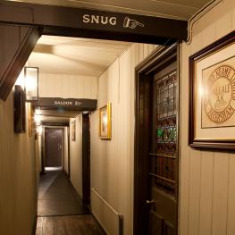 The Bear Inn Faversham Snug Sign
