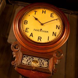 The Bear Inn Faversham Bear Clock